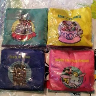 Disney - ディズニー カプセルトイ エコバッグ4色セット