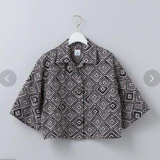 ビューティアンドユースユナイテッドアローズ(BEAUTY&YOUTH UNITED ARROWS)のROKU print short sleeve shirts シャツ 新品(シャツ/ブラウス(半袖/袖なし))