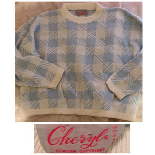 ロキエ(Lochie)の50's vintage❤︎pastel sweater(ニット/セーター)