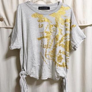 メルシーボークー(mercibeaucoup)のメルシーボークー チズティー カットソー タグあり 美品(カットソー(半袖/袖なし))