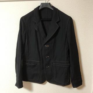 ヨウジヤマモト(Yohji Yamamoto)のヨウジヤマモト ウール ステッチ ジャケット スーツ(テーラードジャケット)