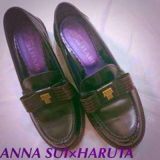 アナスイ(ANNA SUI)のANNA SUI×HARUTA 23.5(ローファー/革靴)