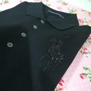 Ralph Lauren - 新品 ラルフローレン レディース ポロシャツ M ブラック