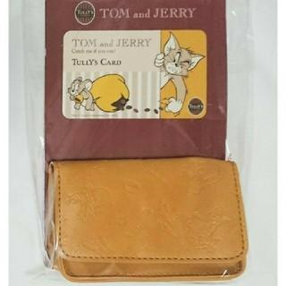 タリーズコーヒー(TULLY'S COFFEE)のタリーズコーヒー トムとジェリー カードケース(名刺入れ/定期入れ)