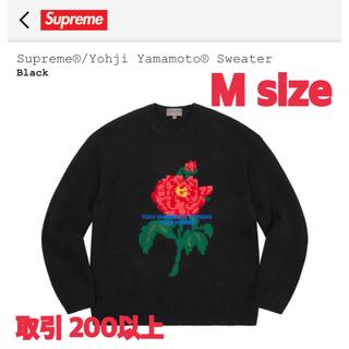シュプリーム(Supreme)のSupreme®/Yohji Yamamoto® Sweater Mサイズ(ニット/セーター)