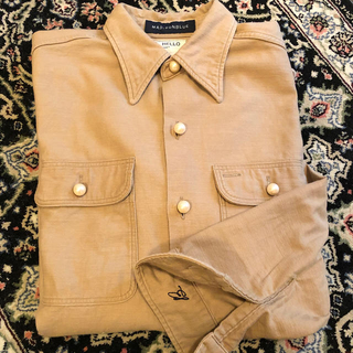 マディソンブルー(MADISONBLUE)のマディソンブルー ハンプトンパールボタンシャツ(シャツ/ブラウス(長袖/七分))