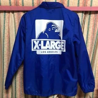 エクストララージ(XLARGE)の最終値下げ xlarge コーチジャケット ブルー(ナイロンジャケット)