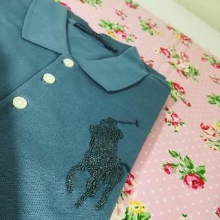 Ralph Lauren - 新品 ラルフローレン レディース ポロシャツ M ブルー