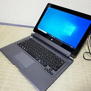 フジツウ(富士通)の富士通 2in1 タッチパネル タッチペン付き 高性能タブレットPC (タブレット)