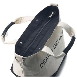 DEAN & DELUCA - DEAN&DELUCA キャンバス トートバッグ ショルダー付き ★数量限定★