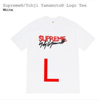 シュプリーム(Supreme)のSupreme®/Yohji Yamamoto® Logo Tee (Tシャツ/カットソー(半袖/袖なし))