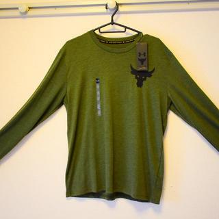 アンダーアーマー(UNDER ARMOUR)の値下げしました。 アンダーアーマー プロジェクトロック ロングTシャツ(Tシャツ/カットソー(七分/長袖))