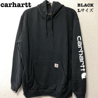 carhartt - carhartt カーハート パーカー プルオーバー スウェット ブラック L