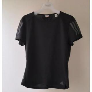 アディダス(adidas)のadidas アディダス スポーツウェア ブラック 黒 Mサイズ(カットソー(半袖/袖なし))