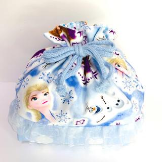 アナと雪の女王 - #24 アナ雪 お弁当袋 ハンドメイド 巾着
