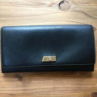 ニナリッチ(NINA RICCI)のNINA RICCI 黒 長財布(財布)