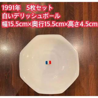 山崎製パン - 1991年 ヤマザキ春のパン祭り 5枚セット 白いデリッシュボール