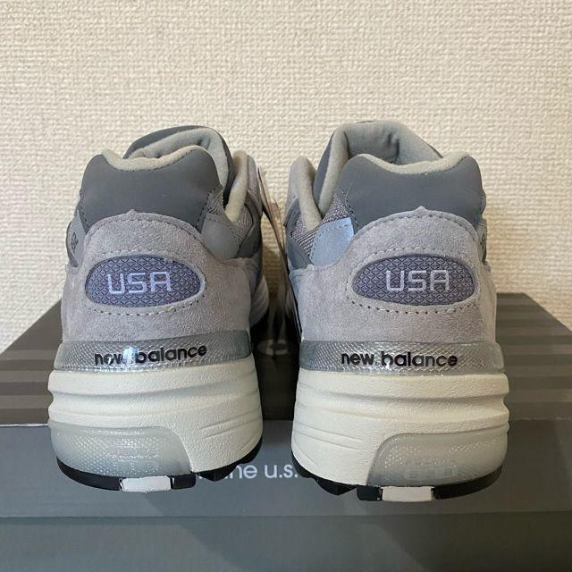 New Balance(ニューバランス)の27.5cm 新品未使用ニューバランスM992GR new balance メンズの靴/シューズ(スニーカー)の商品写真