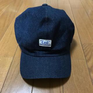 リー(Lee)のLee/メンズキャップ/デニム地(キャップ)
