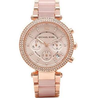 マイケルコース(Michael Kors)のマイケルコース ピンクゴールド 腕時計(腕時計)