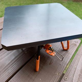 シンフジパートナー(新富士バーナー)のシングルバーナー 用 極厚鉄板 12ミリ ST-310 山メシ NO.164(調理器具)