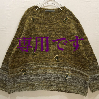 フォーティーファイブアールピーエム(45rpm)の45R 歳時記セーター(ニット/セーター)