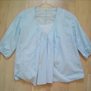 ムジルシリョウヒン(MUJI (無印良品))の無印良品 MUJI マタニティ 授乳服 レディース トップス シャツ ブラウス(マタニティトップス)