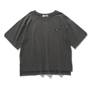 カンゴール(KANGOL)の【KANGOL EXTRA COMFORT】ネーム風ロゴT グレーL(Tシャツ(半袖/袖なし))