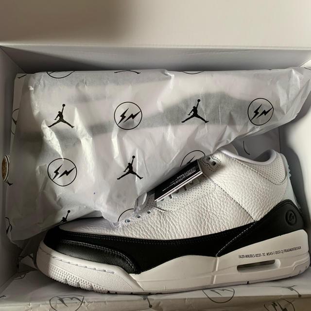 NIKE(ナイキ)のAJ3 NIKE Air Jordan3×fragment 28cm メンズの靴/シューズ(スニーカー)の商品写真