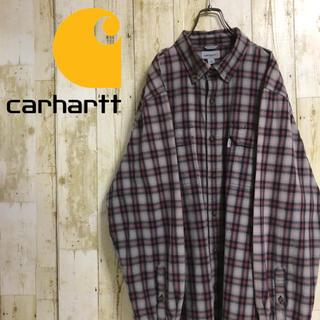カーハート(carhartt)のカーハート ネームタグ ダブルポケット ビッグサイズ マルチカラー  2XL(シャツ)