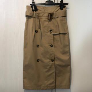 ダズリン(dazzlin)のdazzlin トレンチナロースカート(ひざ丈スカート)