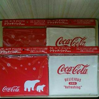 コカ・コーラ - コカ・コーラ オリジナル クラッチバッグ
