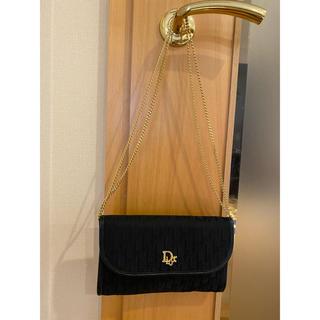 クリスチャンディオール(Christian Dior)のDior クリスチャンディオール チェーンクラッチ パーティーバッグ(クラッチバッグ)