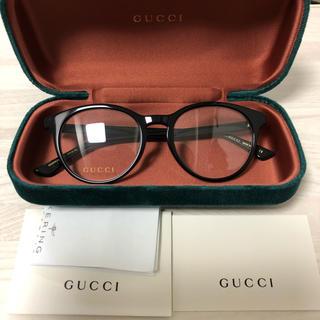 Gucci - グッチ(GUCCI)  メガネ 眼鏡 黒縁メガネ  新品 未使用 箱付き