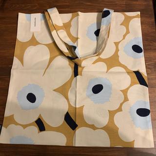 マリメッコ(marimekko)のマリメッコ トートバッグ ファブリック エコ ウニッコ 人気カラー 新品未使用(トートバッグ)