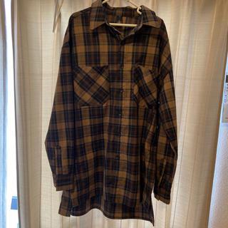 バレンシアガ(Balenciaga)のnens チェックシャツ Mサイズ(シャツ)
