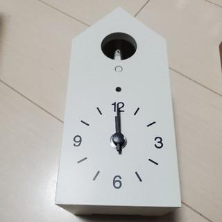 ムジルシリョウヒン(MUJI (無印良品))の鳩時計(置時計)