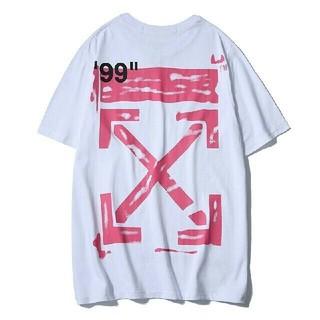オフホワイト(OFF-WHITE)の大人気!OFF WHITEオフホワイト半袖Tシャツ(Tシャツ/カットソー(半袖/袖なし))