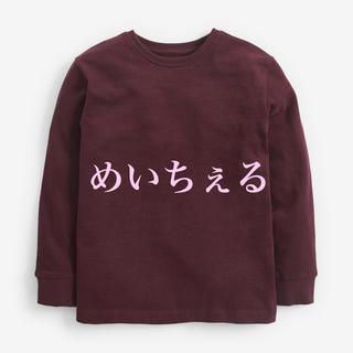 ネクスト(NEXT)の【新品】プラム オーガニックコットンコンフォート長袖Tシャツ(オールド)(Tシャツ/カットソー)