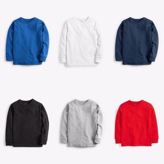 ネクスト(NEXT)の【新品】next オーガニックコットンコンフォート長袖Tシャツ(オールド)(Tシャツ/カットソー)