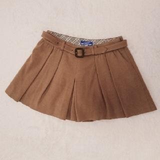 バーバリーブルーレーベル(BURBERRY BLUE LABEL)のバーバリー ブルーレーベル キュロットスカート パンツ(キュロット)
