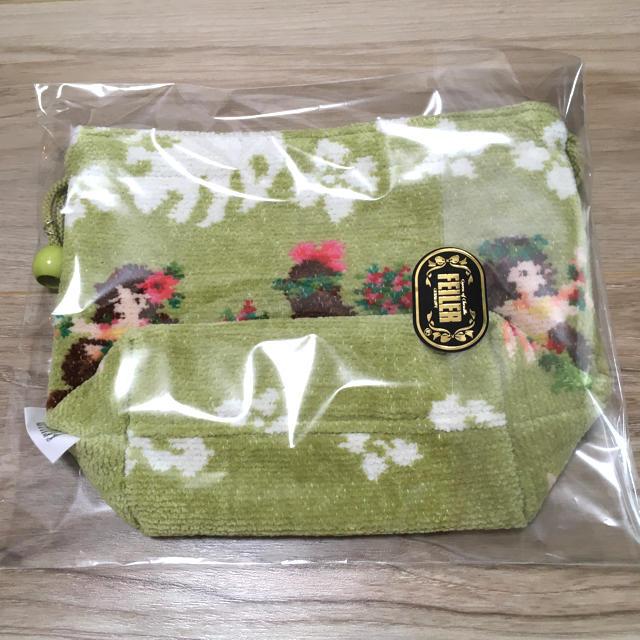 FEILER(フェイラー)のクーポンでお得! 完売品 フェイラー   マナマナ 巾着 レディースのバッグ(ショルダーバッグ)の商品写真
