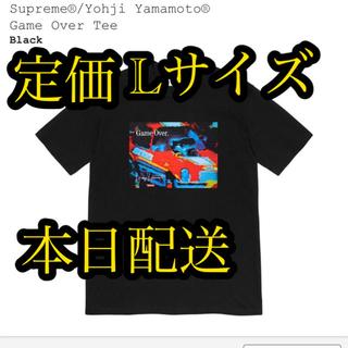 シュプリーム(Supreme)の専用Supreme Yohji Yamamoto Game Over Tee L(Tシャツ/カットソー(半袖/袖なし))