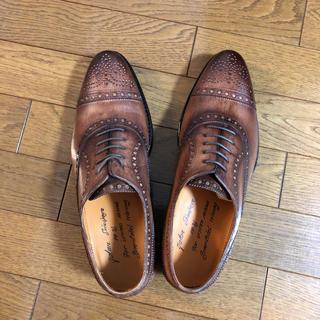 ビューティアンドユースユナイテッドアローズ(BEAUTY&YOUTH UNITED ARROWS)の革靴 ブラウン 新品未使用(ドレス/ビジネス)