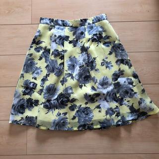 ミッシュマッシュ(MISCH MASCH)のMISCH MASCH 花柄 スカート(ひざ丈スカート)