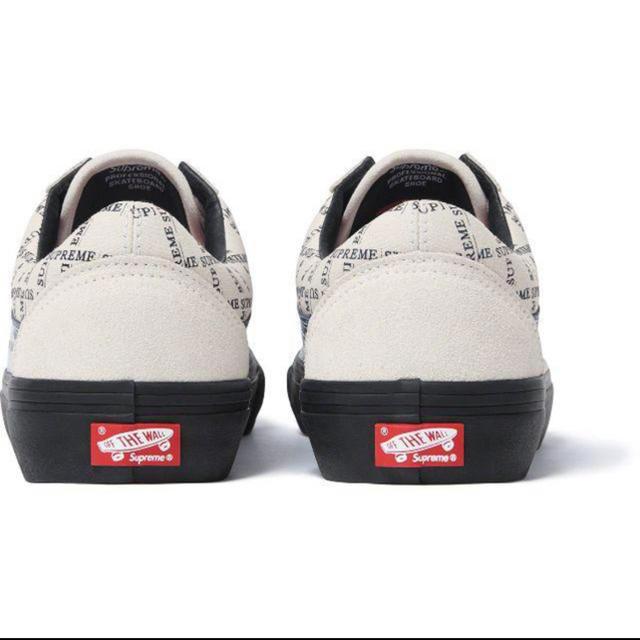 Supreme(シュプリーム)のsupreme vans シュプリーム ヴァンズ   メンズの靴/シューズ(スニーカー)の商品写真