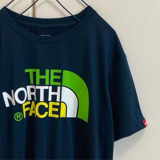 THE NORTH FACE - ノースフェイス Tシャツ カラフルロゴ