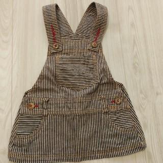 ニシマツヤ(西松屋)のジャンパースカート 80㎝(スカート)