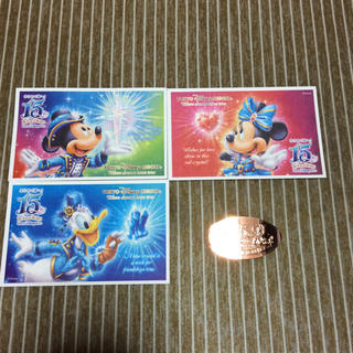Disney , 15周年ディズニーシー使用済みチケット♡の通販 by きらり\u0027s shop|ディズニーならラクマ