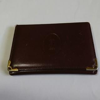 カルティエ(Cartier)のカルティエ、カード入れ、定期入れ(名刺入れ/定期入れ)